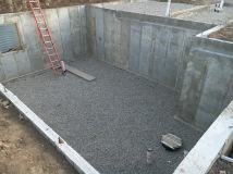 Aggregate Base and Plumbing Installed