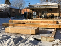 Joist and Sheathing Delivery