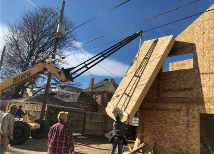 Raising Roof Panel