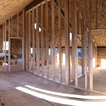Standing in the Master Bedroom Looking toward the Master Bath and Closet