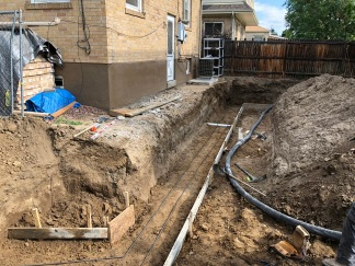 Formwork for Retaining Wall