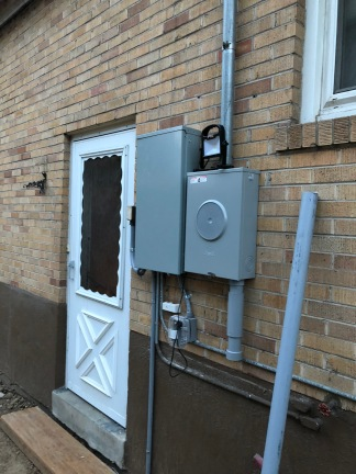 New Electrical Panel and Meter Box