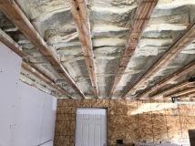 Spray Foam Insulation - Garage Ceiling