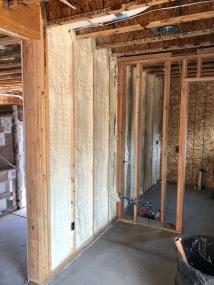 Spray Foam Insulation - Garage/Mudroom Threshold