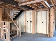 Spray Foam Insulation - Living Room