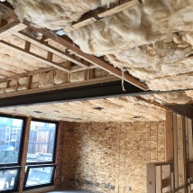 Sound Batt Insulation between 1st and 2nd Floors