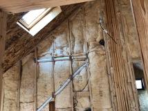 Sound Batt Insulation 2nd Floor Hallway
