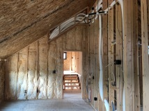 Sound Batt Insulation - Master Bedroom