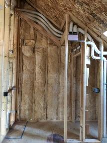 Sound Batt Insulation - Master Bathroom