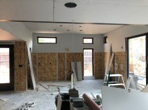 First Floor - Step 1: Hang Drywall