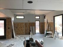 First Floor - Step 1: Hang Drywall