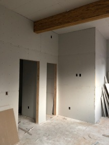 Office - Step 1: Hang Drywall