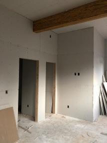 Office - Step 1: Hang Drywall