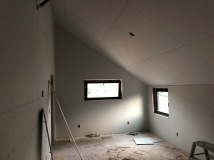Master Bedroom - Step 1: Hang Drywall