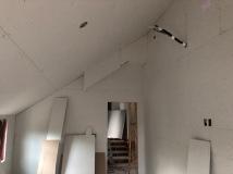 Master Bedroom - Step 1: Hang Drywall