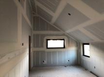 Master Bedroom - Step 2: Mud Seams and Tape Corners