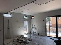 First Floor - Step 2: Mud Seams and Tape Corners