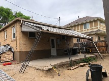 Demo Existing Awning